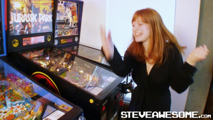 Claire Howard Vintage 1980s Arcade Play